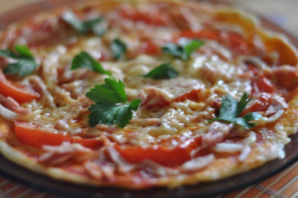 Как сделать пиццу в микроволновке из теста 465