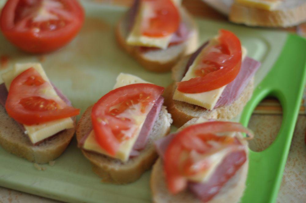 Как сделать вкусные бутерброды горячие