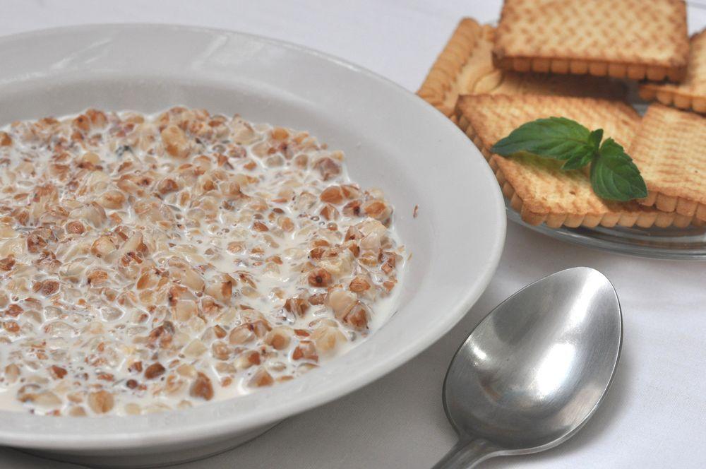 Рецепт каша гречневая молочная