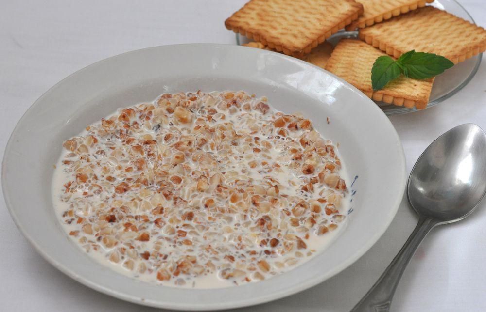 гречневая молочная каша в мультиварке рецепты