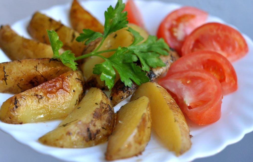 Картофель айдахо рецепт с фото в мультиварке