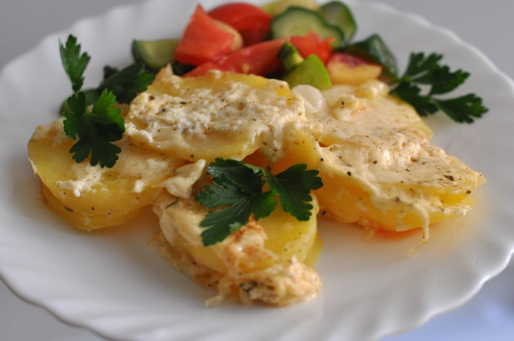 Картошка с сыром и курицей в мультиварке рецепты с фото