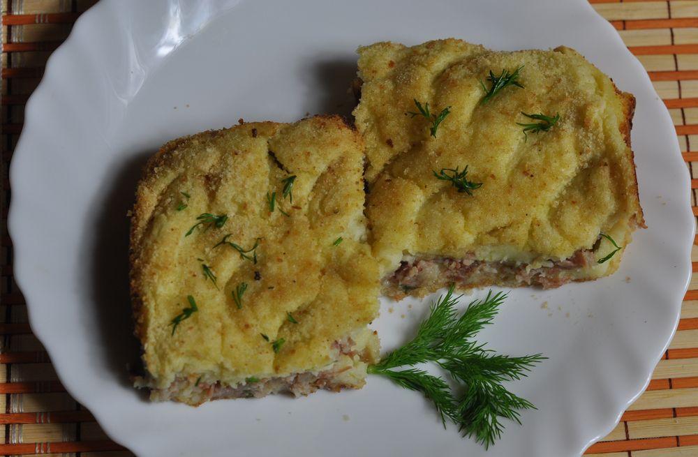 рецепт яичного суфле с фаршем