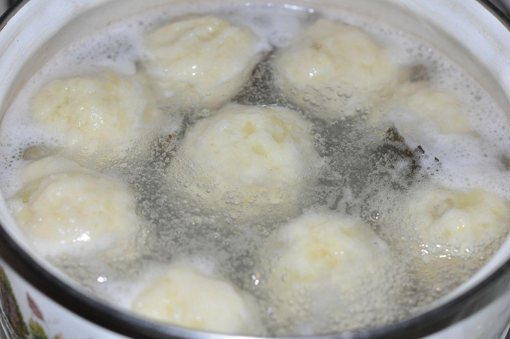 Как приготовить клецки из картофеля