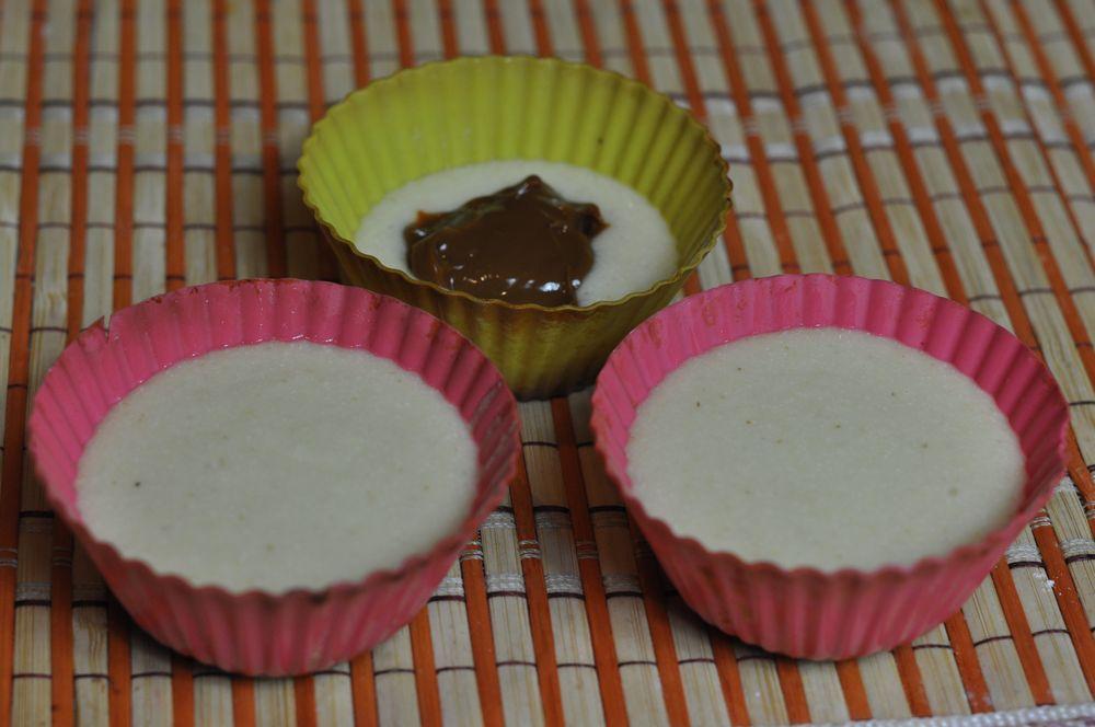 Тесто для кексов в силиконовой форме простое
