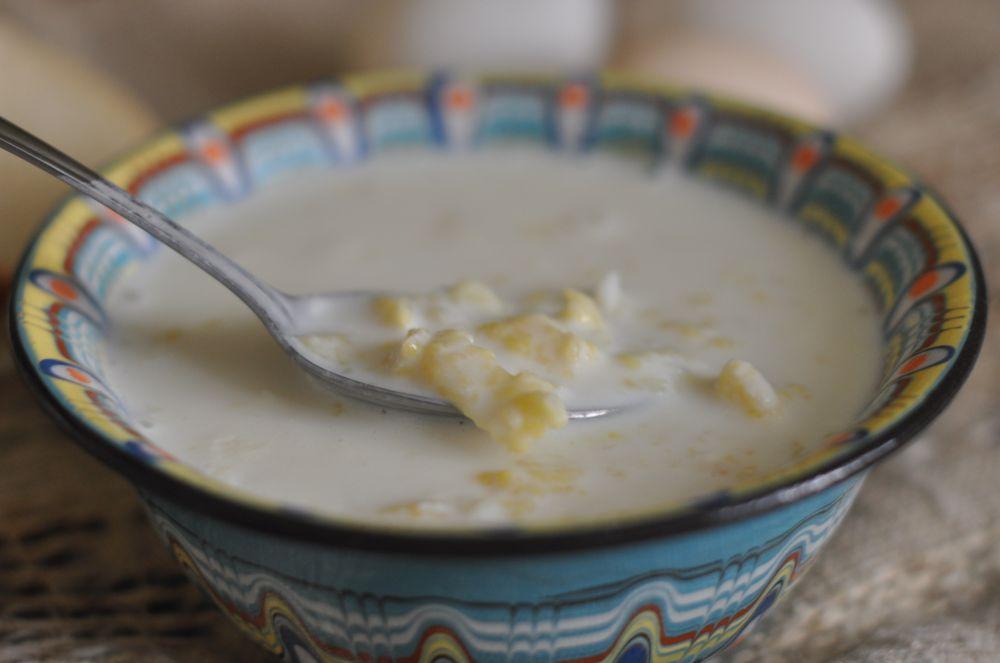 Как сделать затирку для супа
