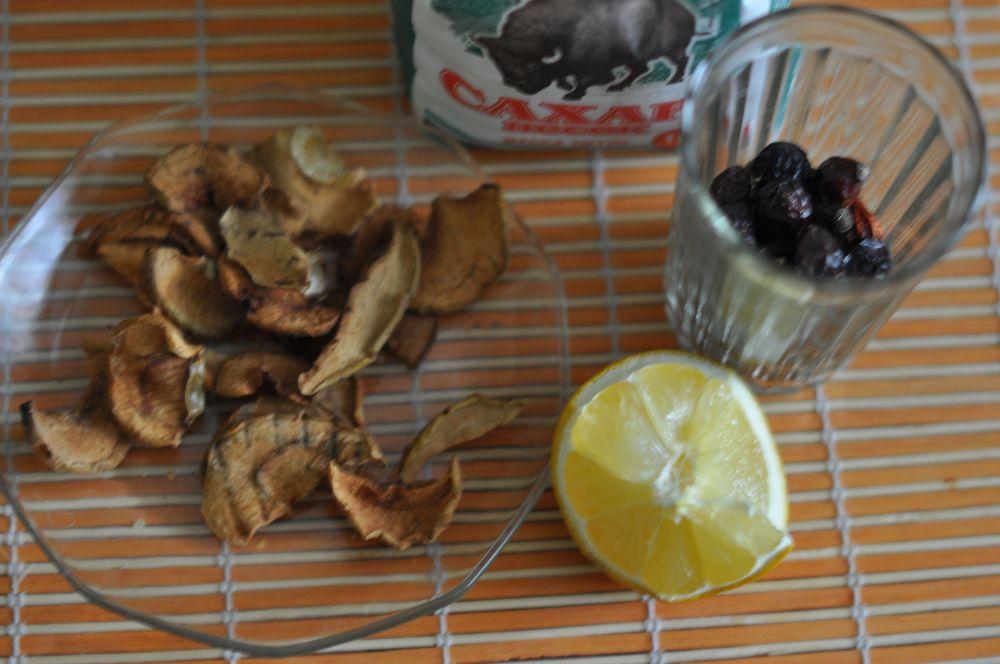как приготовить компот из яблок и шиповника