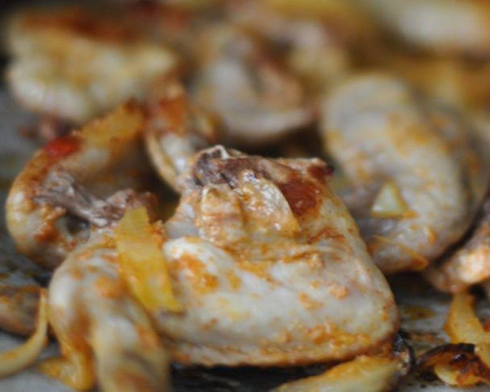 Крылышки в духовке к пиву рецепт пошагово в