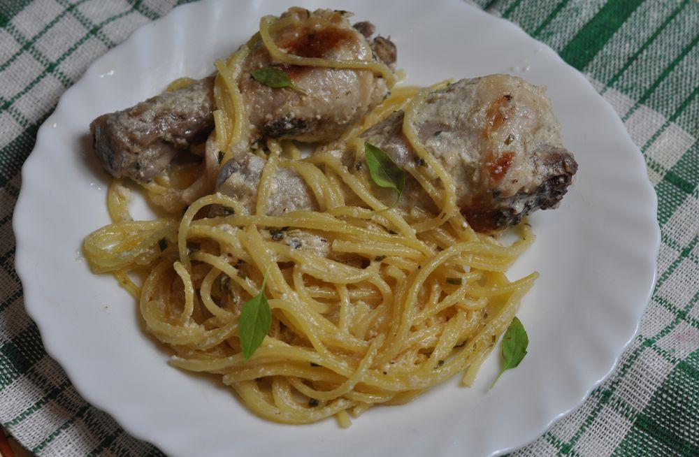 Рецепт блюд из окорочка фото