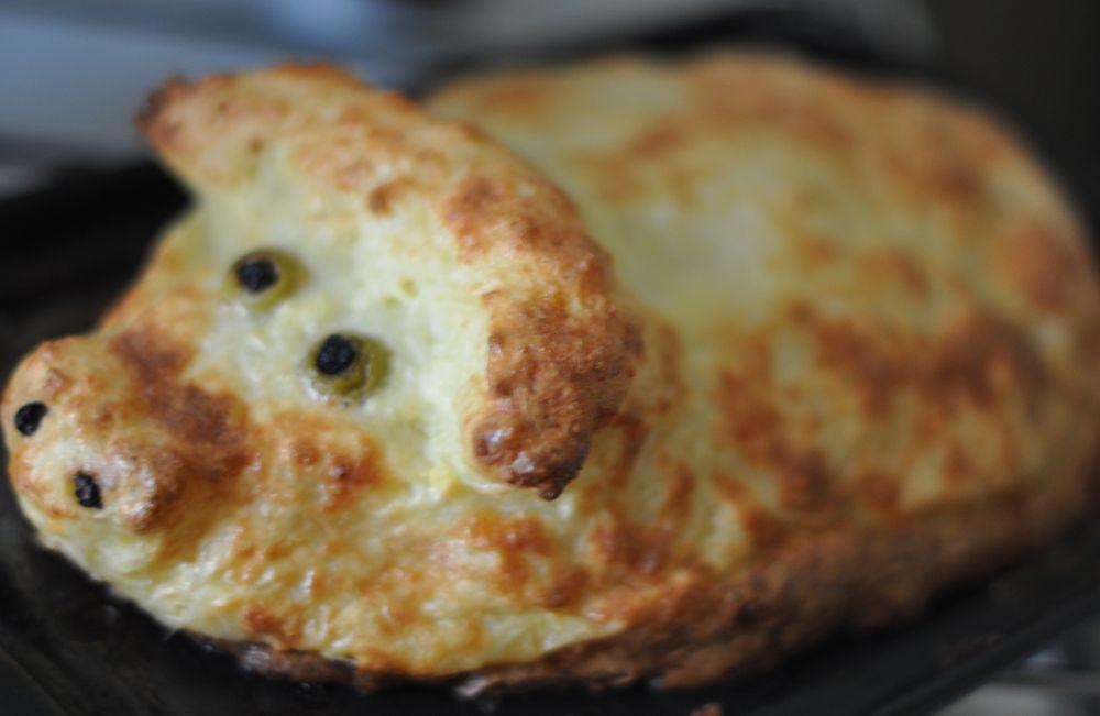 Пирог картошка с капустой в духовке