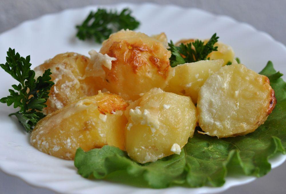 Как приготовить картошку со сметаной