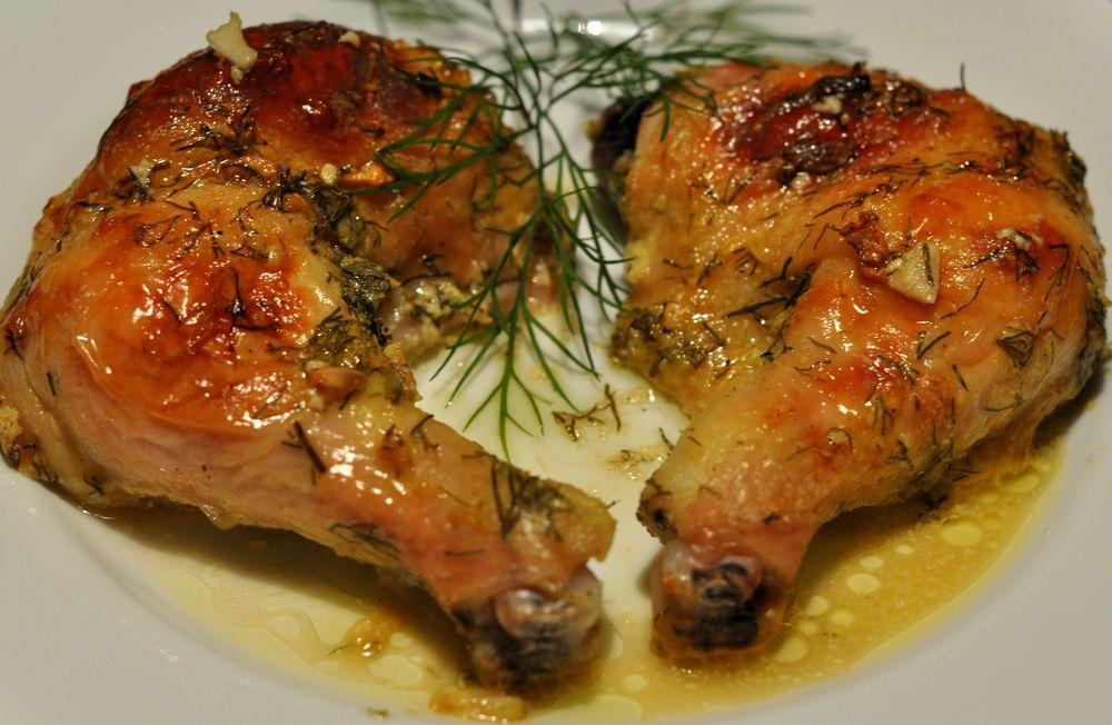 Как вкусно приготовить куриные окорочка рецепт