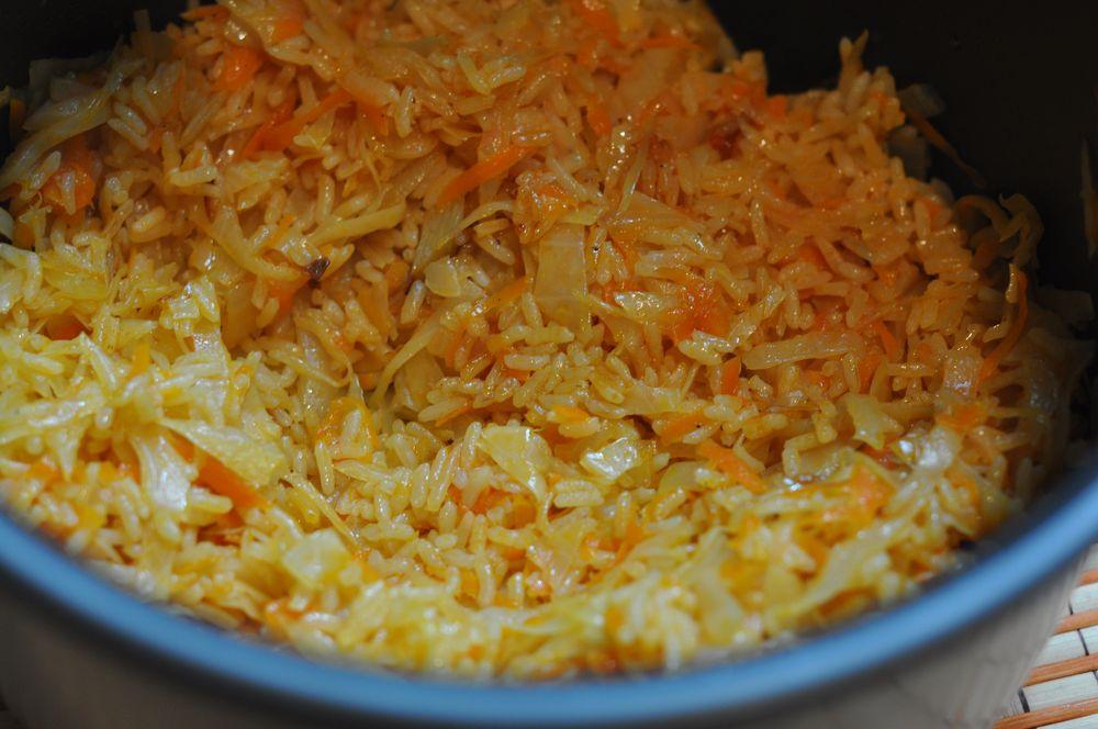 Овощное рагу с рисом в мультиварке рецепт