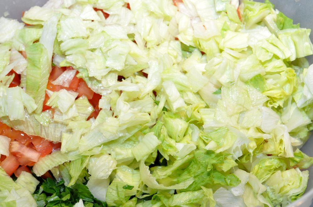 салат айсберг рецепты приготовления с фото