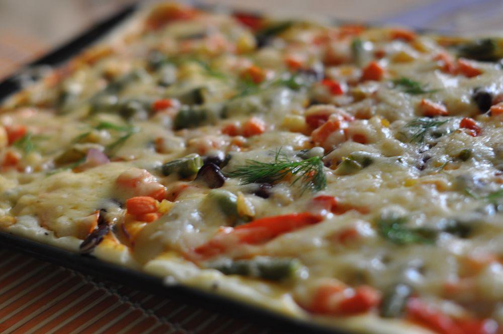 Домашняя пицца быстрого приготовления
