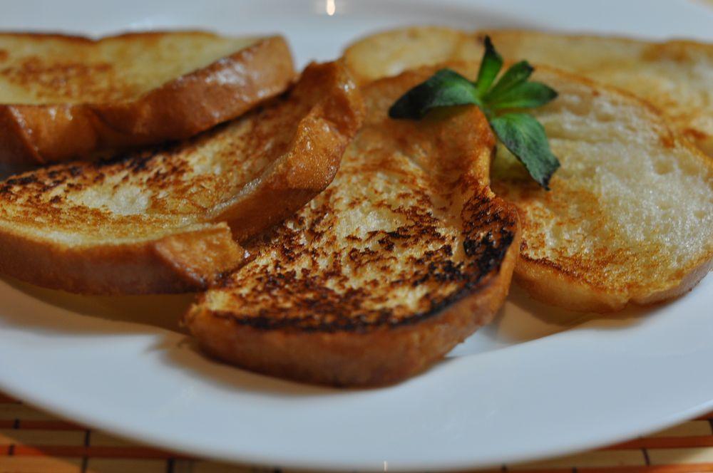 с из белого хлеба фото гренки рецепт