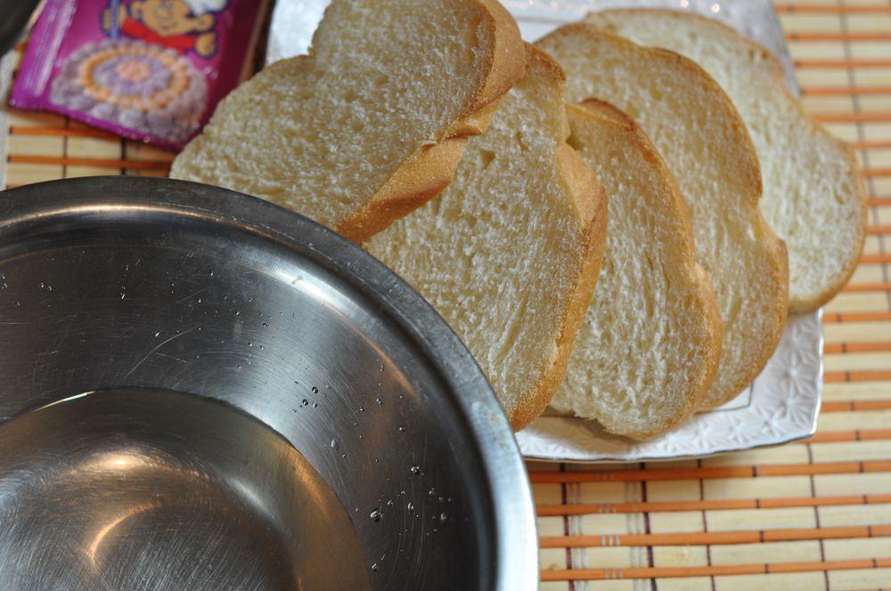 Как сделать гренки из хлеба с сахаром и молоком 794