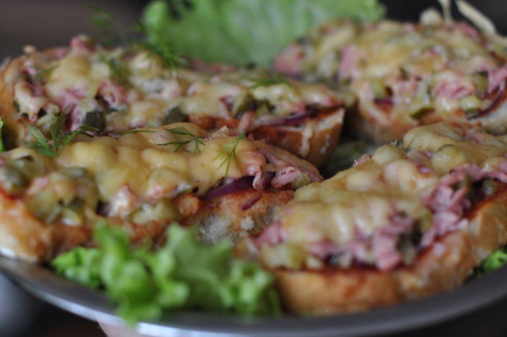 мини пицца на сковороде рецепт
