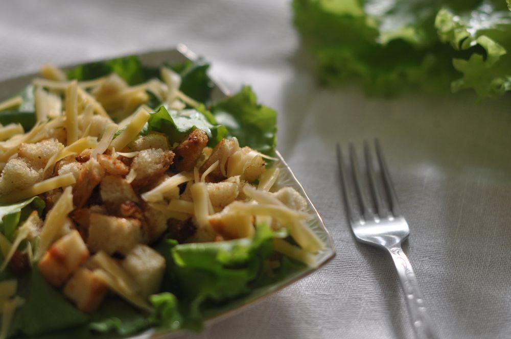 рецепт салата цезарь от шеф повара ресторана