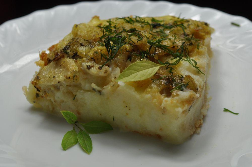 показать рецепты картофельный пудинг