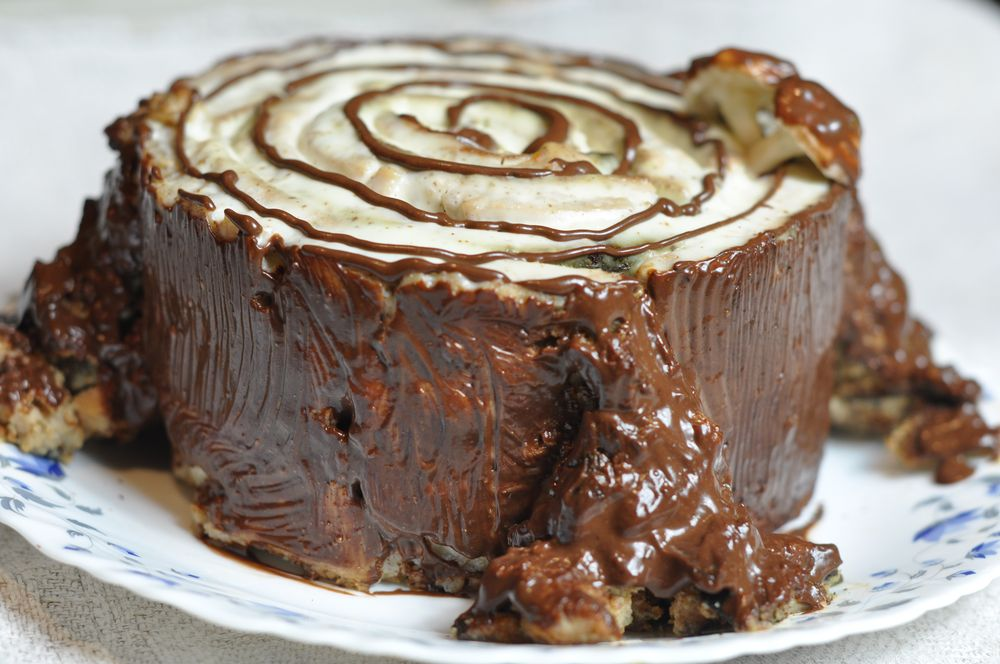 Торт трухлявый пень рецепт с фото в мультиварке