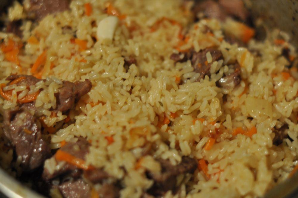 Узбекский плов из говядины рецепт с фото пошагово