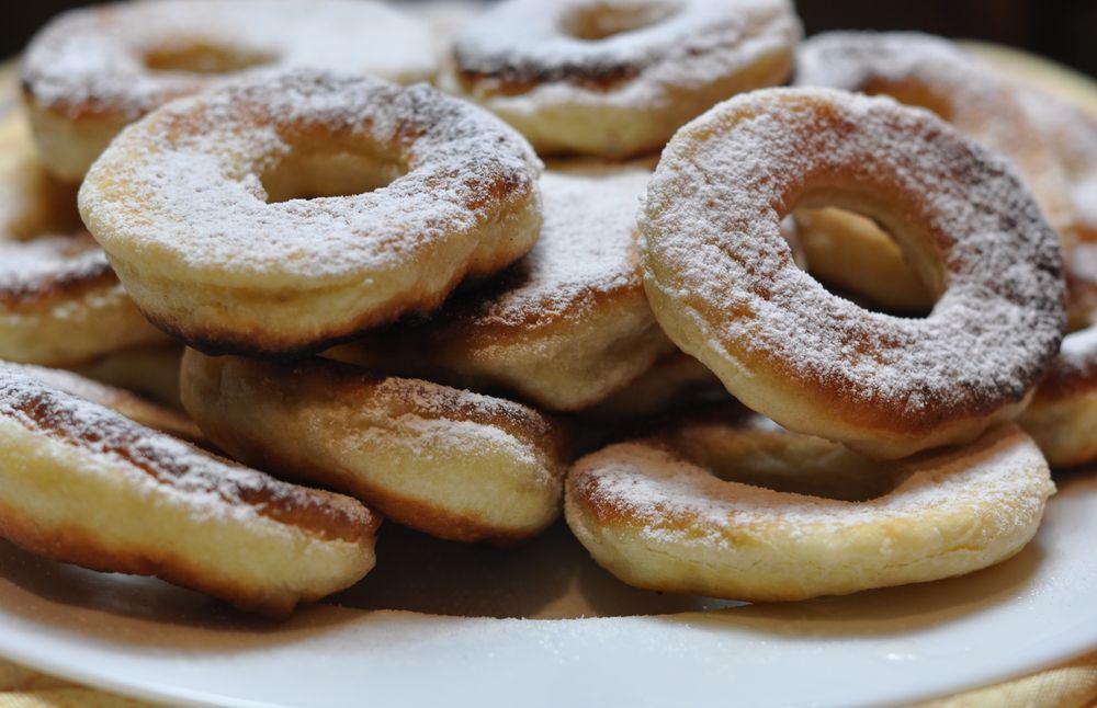 пончики на молоке в духовке рецепт с фото