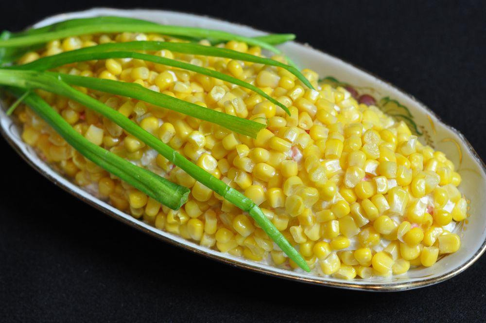 салаты рецепты кукуруза