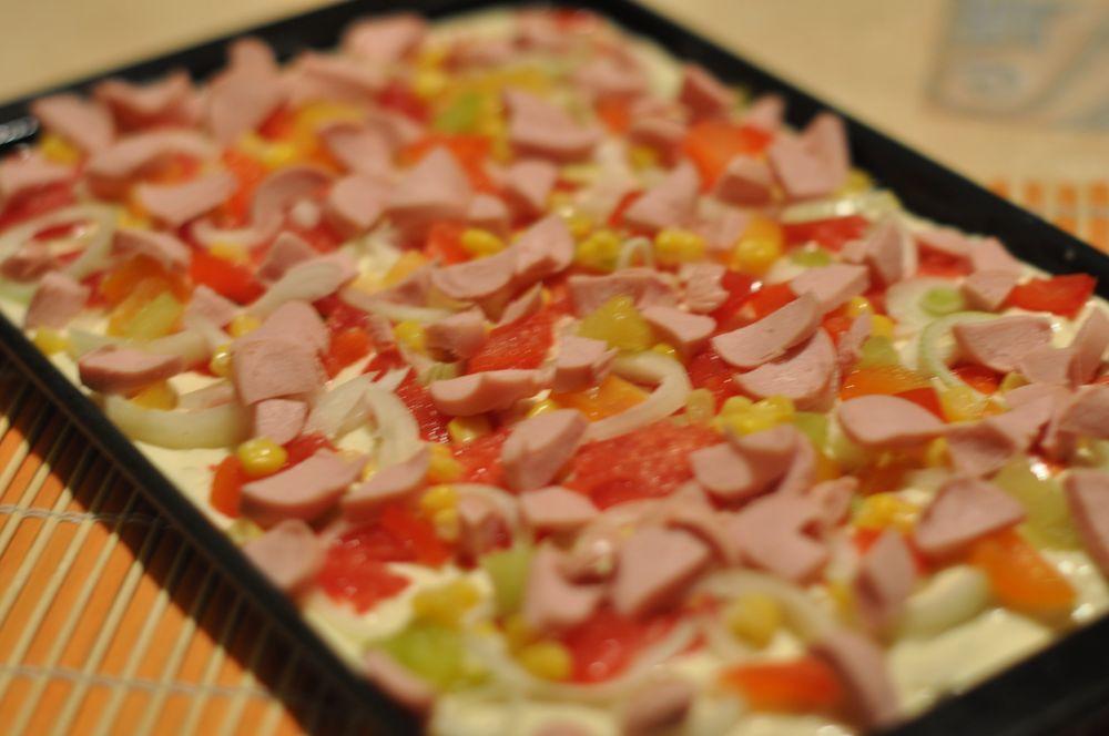 Самая вкусная пицца на кефире рецепт в домашних