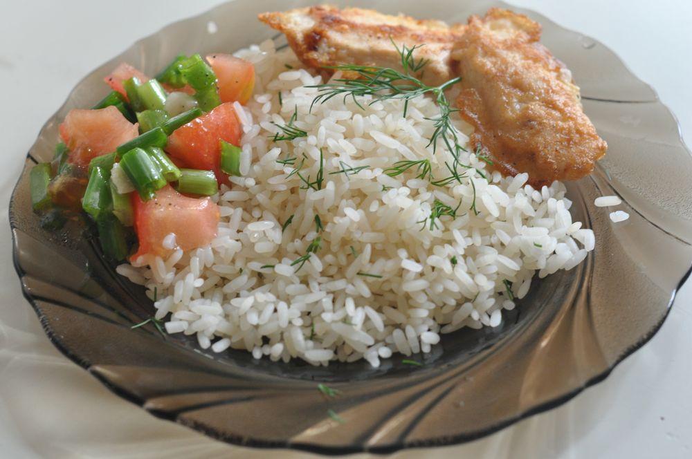 рис на пару с курицей в мультиварке