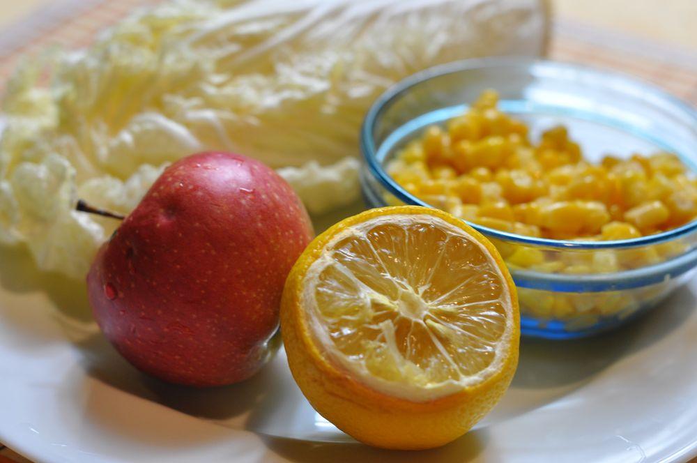 Салат с кукурузой и колбасой  Салаты и закуски