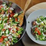 """Овощной салат – """"Весенний"""""""