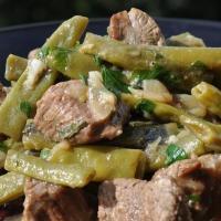 Как правильно приготовить говядину: зелёное лобио