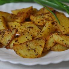 Картофельные дольки в духовке