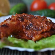 Куриные окорочка в соусе