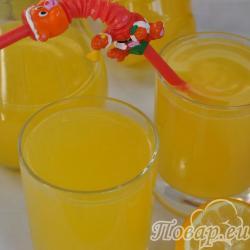 Фанта из апельсинов