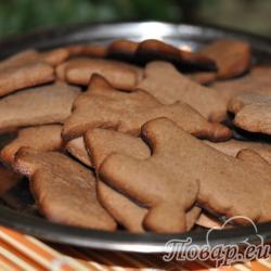 Фигурное печенье из песочного теста