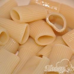 Как правильно приготовить макароны: макароны-трубочки отварные