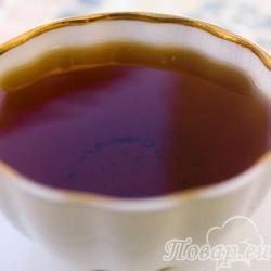 Мятный чай