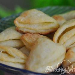 Печенье Ракушки с творогом