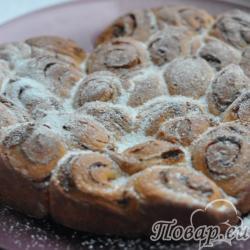 Праздничный пирог с корицей