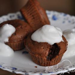 Горячие шоколадные пирожные