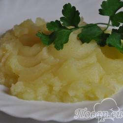 Пюре картофельное постное