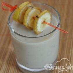 Банановый ласси