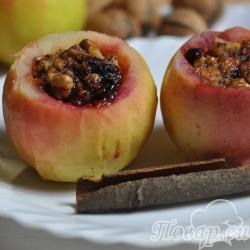 Яблоки по-венски