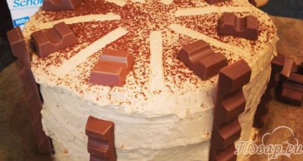Торт Kinderschokolade