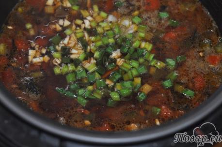 Борщ вегетарианский в мультиварке: готовое блюдо