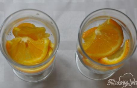 Чёрный чай с апельсином: апельсины