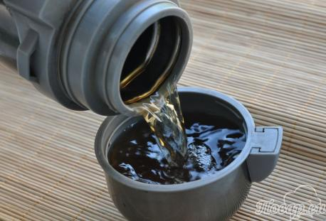 Чёрный чай в термосе: готовый напиток