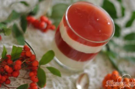 Десерт из киселя для малышей